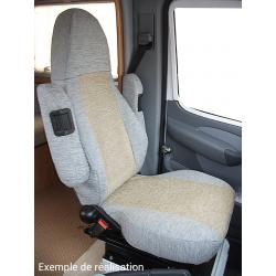 Dakar -  sièges cabine + 2 banquettes camping-car