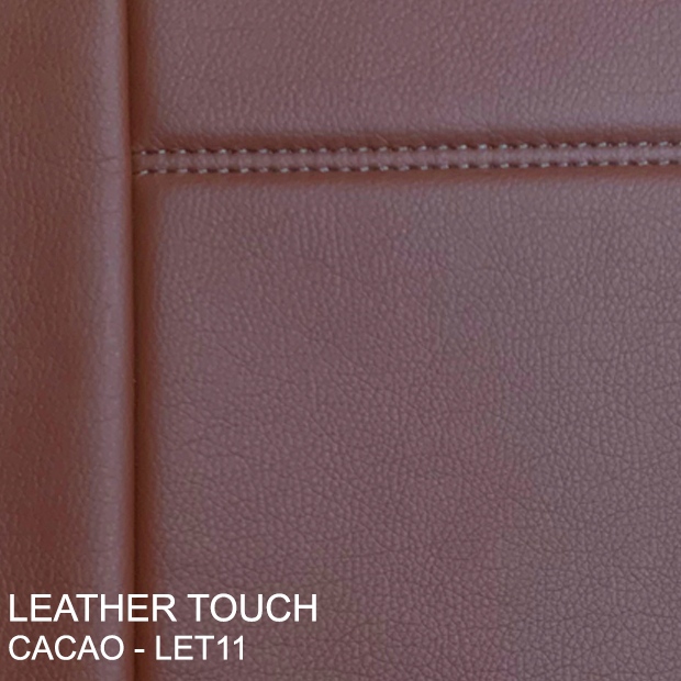 Leather Touch Cacao - Let11