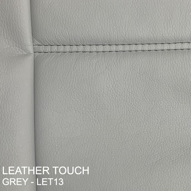Leather Touch Grey - Let13