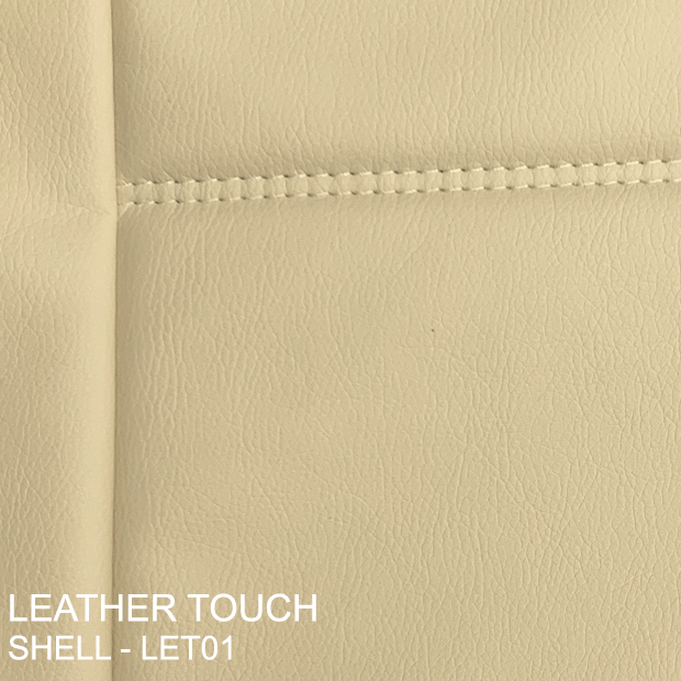 Leather Touch Shell (crème) - Let01