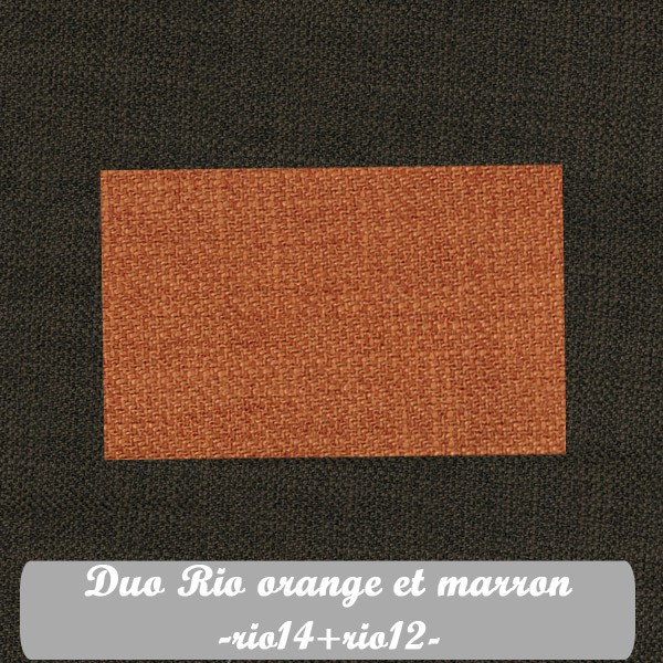 Duo Orange+Marron : Rio14+Rio12