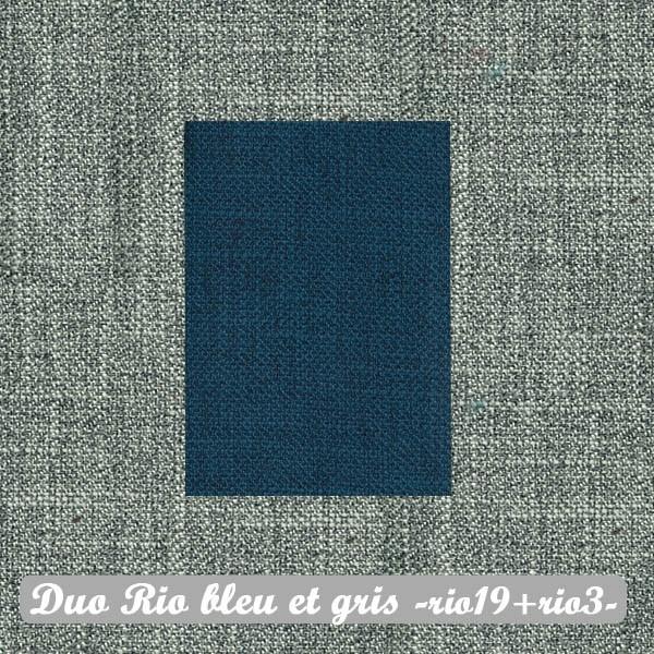 Duo Rio Bleu+Gris : Rio19+Rio3