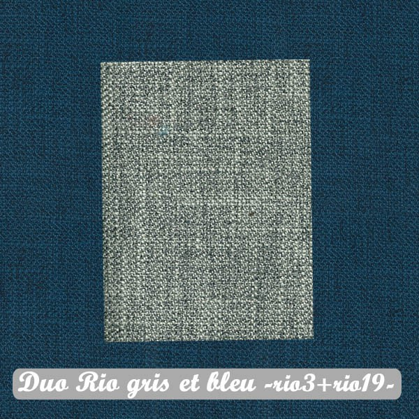 Duo Gris+Bleu : Rio3+Rio19