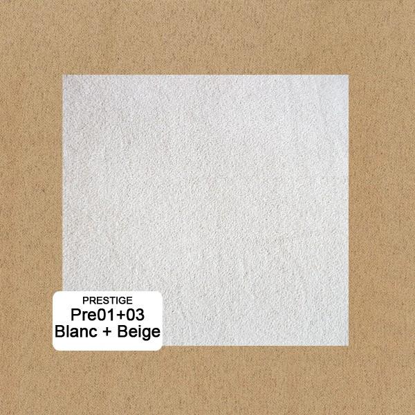 Bi-color:Blanc Pre1+Beige Pre3