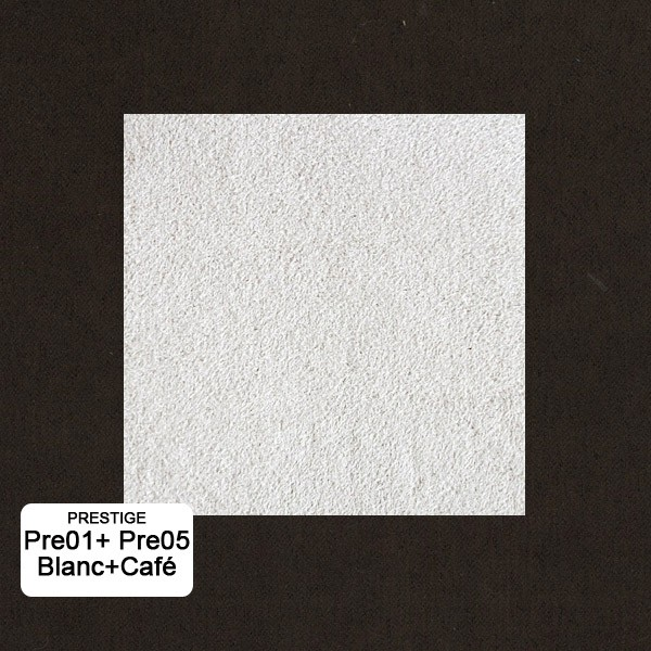Bi-color:Blanc Pre1+Café Pre5