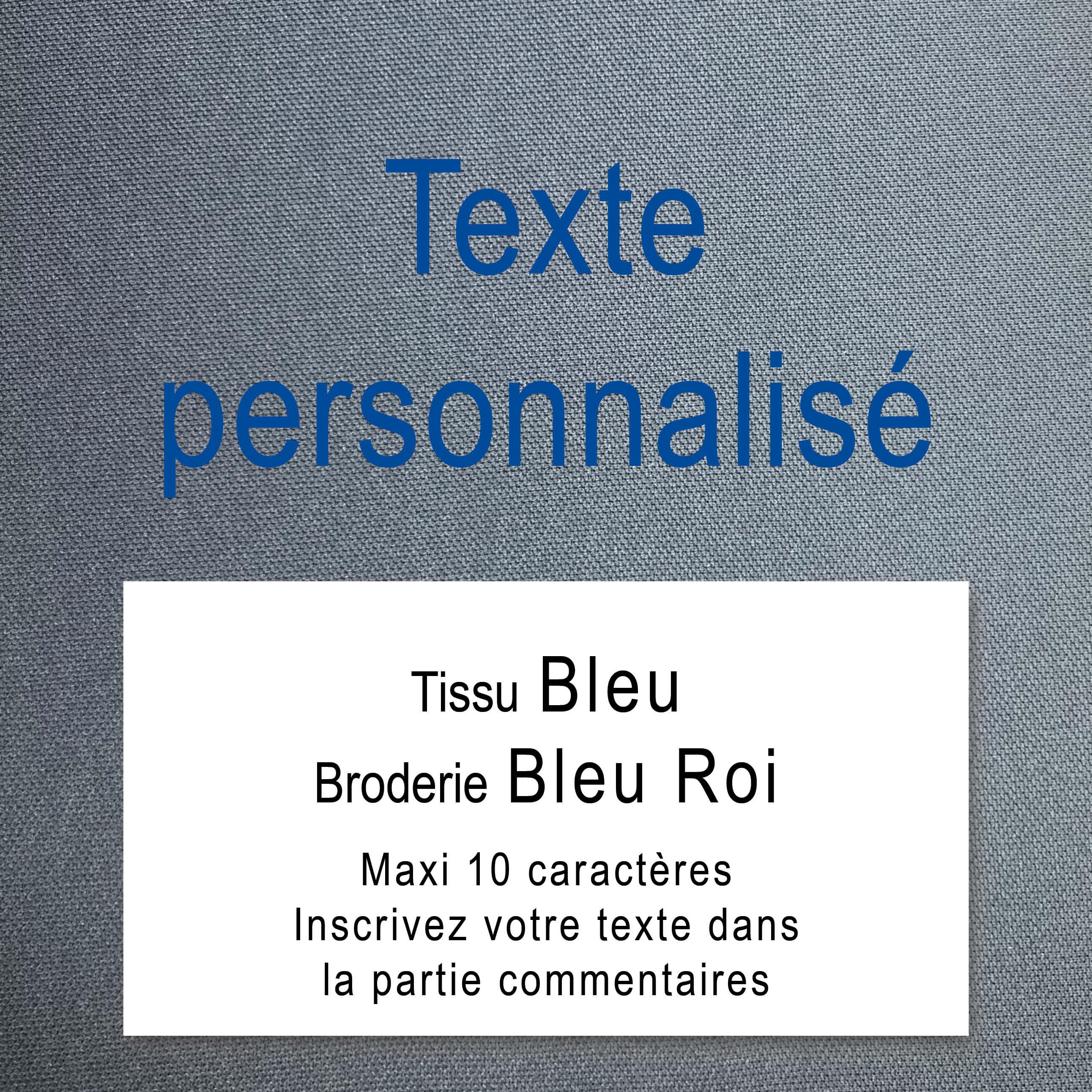 Texte personnalisé - Tissu Beige