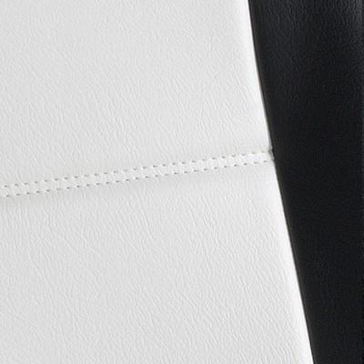 Gold Cuir Blanc et Noir -T24