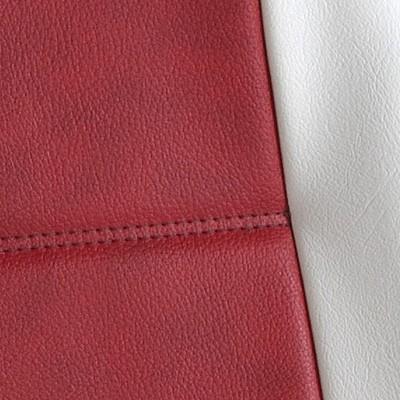 Gold Cuir Rouge et Blanc -T12