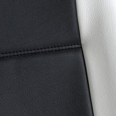 Gold Cuir Noir et Blanc -T14